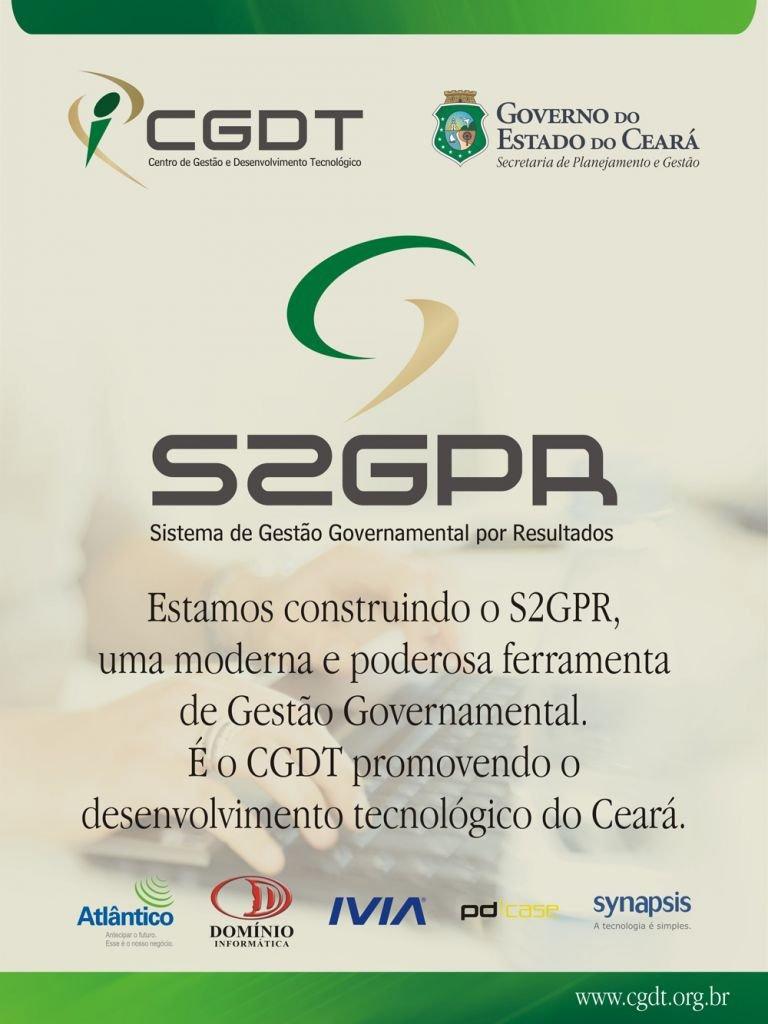 Arte CGDT - Banner S2GPR