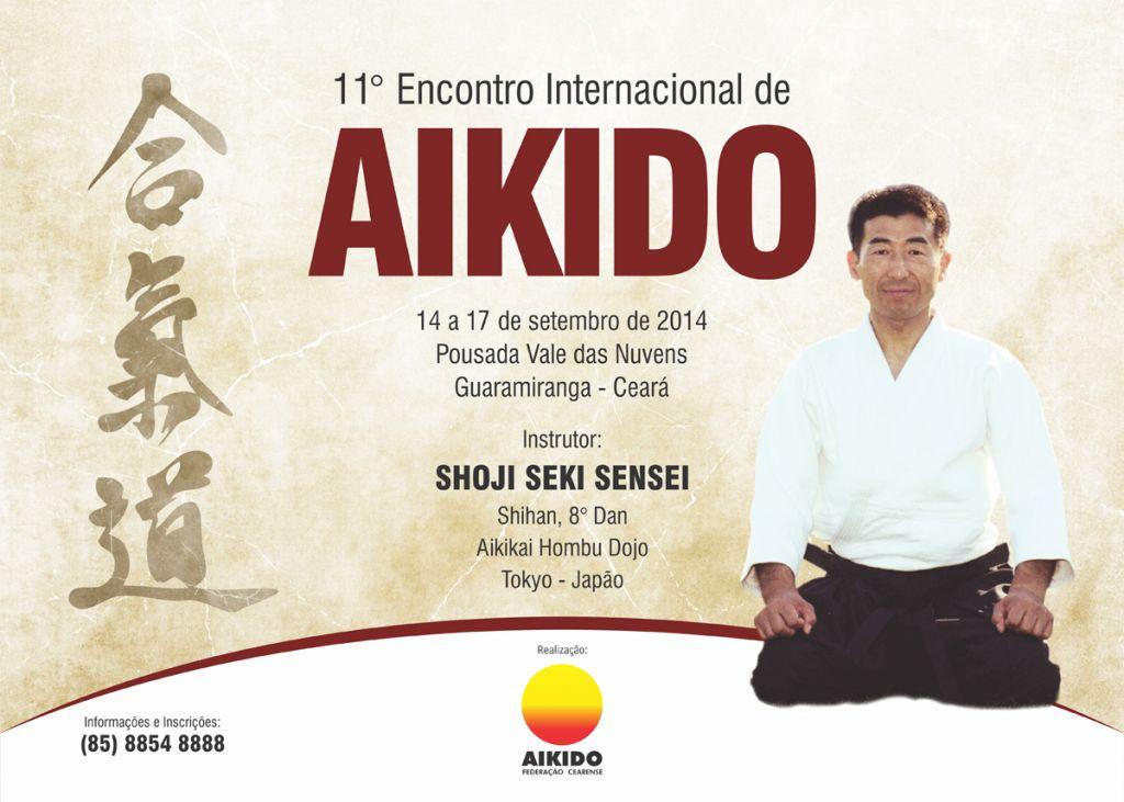 11 Encontro Internacional de Aikido - Cartaz Novo