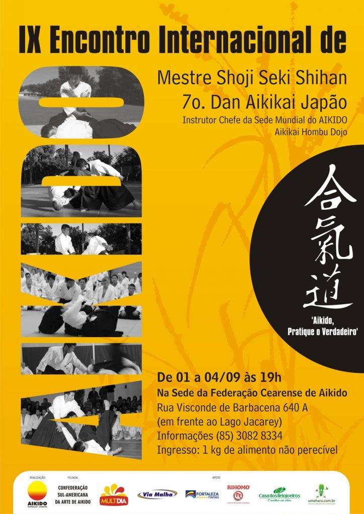 Cartaz - IX Envontro Internacional de Aikido